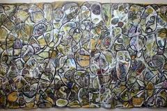 patchwork  170   280  cm acrylique sur toile